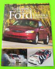 2000 FORD TAURUS & FORD MOTORSPORTS ENTHUSIAST'S GUIDE 36-pgs R&T BOOK nr-MINT