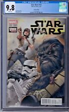 STAR WARS # 13 Mann Connecting Variant Cover CGC 9.8 Marvel 2015