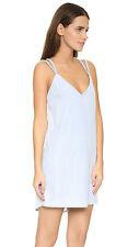 Sofia by ViX Denim Jeans Braid Short Dress Cover Up Size L Swimwear (K29)