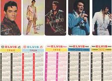 ELVIS PRESLEY RCA RECORDS 1963-1980 WALLET CALENDARS IN BLUE BOX BOXCAR 1979 OOP