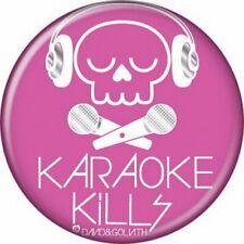 David and Goliath Karaoke Kills Button 82041