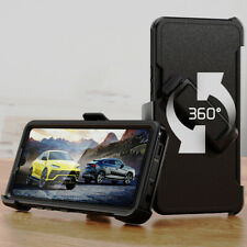 For LG Stylo 6 Case Shockproof Cover Holster Belt Clip Glass Screen Protector