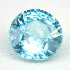 TOP ZIRCON : 1,88 Ct Natürliche Blau Zirkon aus Kambodscha
