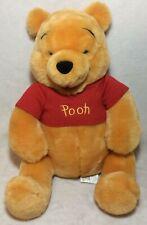"Winnie the Pooh Plush 12"" Disney Store Soft Stuffed Animal Toy Bear Kids"