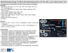 Motor-Einstellwerkzeug-Satz | für Fiat, Alfa, Lancia, Opel, Suzuki, Ford