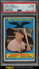 1959 Topps Mickey Mantle ALL-STAR #564 PSA 4 VGEX