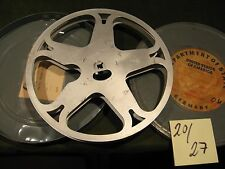 16mm Film Antike Filmspule 300 m USA Filmdose 1940.Jahre-20/27-Antique film reel