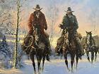 "G.Harvey""Men Of The Great Northwest"" Signed""Best Wishes"" Artist Proof 13/250 coa"