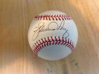 Eduardo Perez OMLB signed autograph Baseball ball Cincinnati Reds