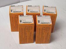 (5) HUBBELLTWIST LOCK TURN & PULL PLUG HBL4723VBK 15 AMP A 15A 125V 2 POLE 3W