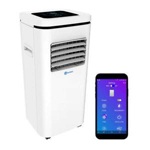 RolliCool 10000BTU Air Conditioner Portable AC Dehumidifier App & Voice Control