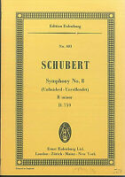 Schubert ~ Symphony No. 8 ( unfinished ) B minor D. 759 - Taschenpartitur