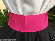 Mexican Pink Sash Belt Size Small Made In Mexico. Faja Rosa Chica Hecha En Mex