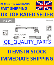 Ignition Wires Leads Set Kit RBU4 JANM for Renault 19 Clio Extra Super 5 Twingo