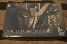 #1 RG 1/144 Strike Gundam deactive mode Premium Bandai limited Model Kit