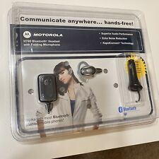 Motorola H700 Bluetooth Headset with Folding Microphone and Car Adapter - New!