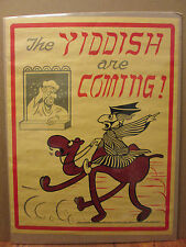 medium vintage The Yiddish are coming! original humor poster  7868