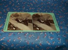 Old Stereoview Apple River Falls Stereographs of Wisconsin W. H. Illingworth