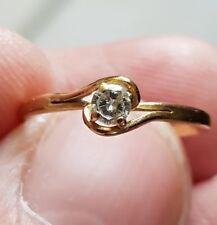 Bague ancienne  diamants en or 18k  (2)