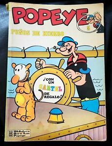 POPEYE #5 1971 Punos De Hierro SPANISH FOREIGN COMIC BOOK