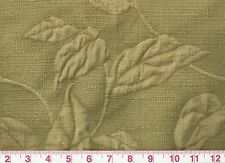 From Italy Jacquard Botanical Green Upholstery Fabric Fabricut Talia CL Oasis