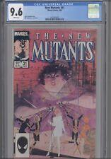New Mutants #31 CGC 9.6 1985 Marvel Comic Chris Claremont Story : NEW Frame