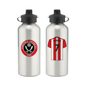 PERSONALISED Sheffield United FC Gifts - Aluminium Water Bottle - Official