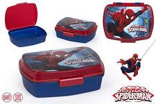 Spiderman Brotdose Lunchbox Brotzeitbox Brotbox Dose Vesperbox Kindergarten NEU