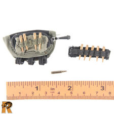 Action Man VAM Palitoy Argent Plastique M60 Machine Gun Bullet Rounds Très bon état