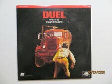Duel Steven Spielberg Laserdisc Movie