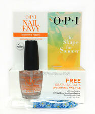 Nail Envy- opi For Sensitive & Peeling Nails- FREE Mini Crystal File 0.5oz/15ml