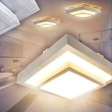 LED Deckenlampen Eckig Leuchten Bade Zimmer WC Nassraumleuchte Deckenlampe IP44