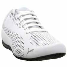GENUINE PUMA DRIFT CAT ULTRA SNEAKERS MENS BEAUTIFUL WHITE ATHLETIC SHOES USA 12