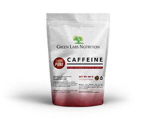 Poudre de caféine 500 / 1000g 2500 portions X 200mg Focus