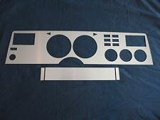 1975-78 Mustang II Brushed Aluminum Dash Insert Kit, A/C, New