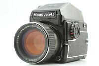 【N MINT+++】 MAMIYA M645 1000s + AE Prism Finder + Sekor C 80mm f/1.9 Lens Japan