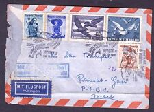 "AUSTRIA AIR MAIL , ""BIRDS"", 1951 YEAR"