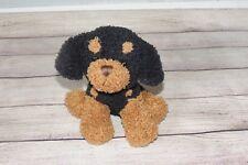 "Best Made Toy Dog Rottweiler Puppy Plush Stuffed Brown Black Dog Doberman Toy 7"""
