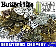 Steampunk BUTTERFLY butterflies 85 gr - Jewelery Making - Beads, Charm & Pendant