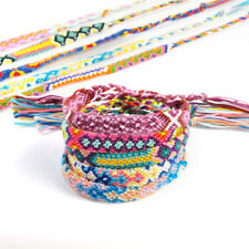 Wholesale Lots 10pcs Charm Braided Strands Friendship Cords Handmade Bracelet