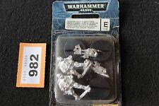 Games Workshop Warhammer 40k Astra Militarum Catachan Heavy Flamers Team Metal