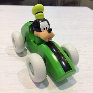 Brio Disney Goofy Green Wooden Racing Car Toy With Suspension 32246