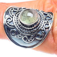 Prehnite 925 Sterling Silver Ring Size 6.5 Ana Co Jewelry R59059F