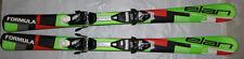 Elan Formula kids skis 130cm skis shape + Tyrolia adjustable Bindings set New