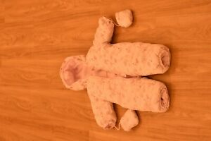 Schneeanzug Baby Größe 74 rosa