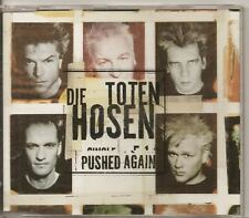 DIE TOTEN HOSEN Pushed Again 4 TRACK GERMAN CD SINGLE