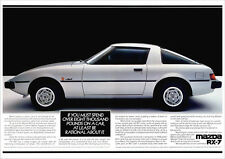 MAZDA RX7 SPORTS COUPE RX-7 RETRO A3 POSTER PRINT FROM CLASSIC 80'S ADVERT