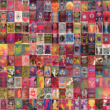 Sixties ROCK POSTERS BLOTTER ART Doors LSD Acid Art paper sheet tabs