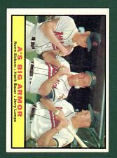 1961 TOPPS BB #119 A'S BIG ARMOUR EX/EX+