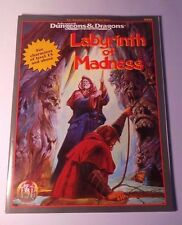 Labyrinth of Madness 1995 AD&D Adventure COMPLETE 2nd Ed.  9503 Near Mint